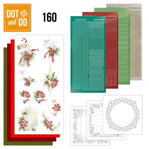Dot and Do 160; Red Christmas Ornaments