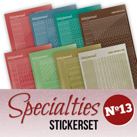 Specialties 13 - STICKERSET