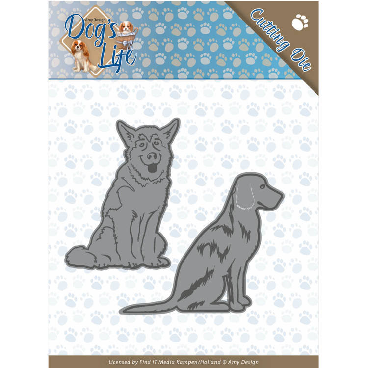 CD: Amy Design; Dog's Life - Die - Sitting Dogs