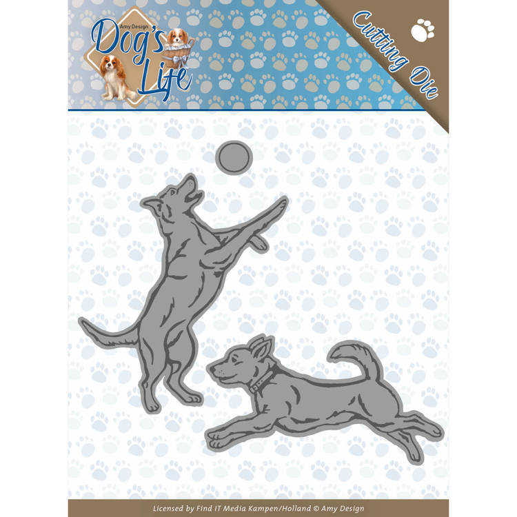 CD: Amy Design; Dog's Life - Die - Playing Dogs