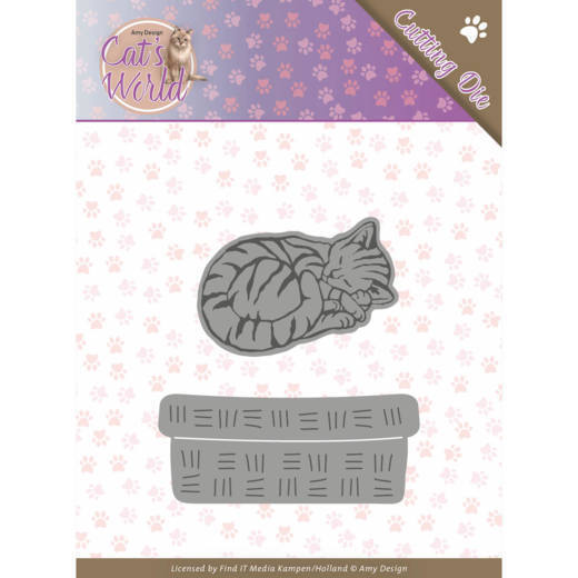 CD: Amy Design; Cats World - Die - Sleeping Cats