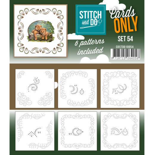 Stitch and Do: Cards Only; Set 54