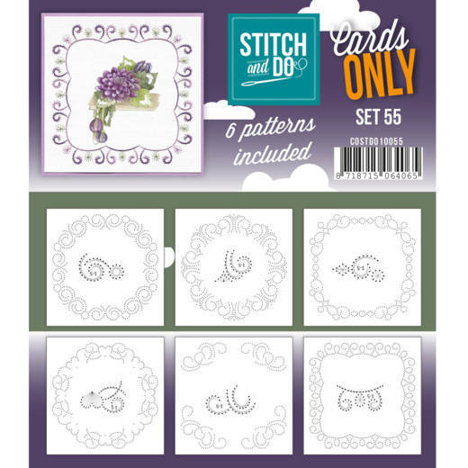 Stitch and Do: Cards Only; Set 55