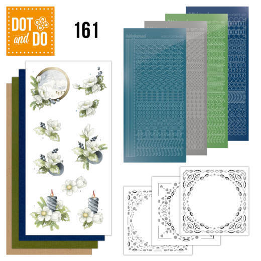 Dot and Do 161 - Amaryllis and Blueberries