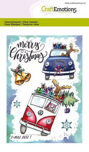 CE: Clearstamp A6 - X-mas Cars 1