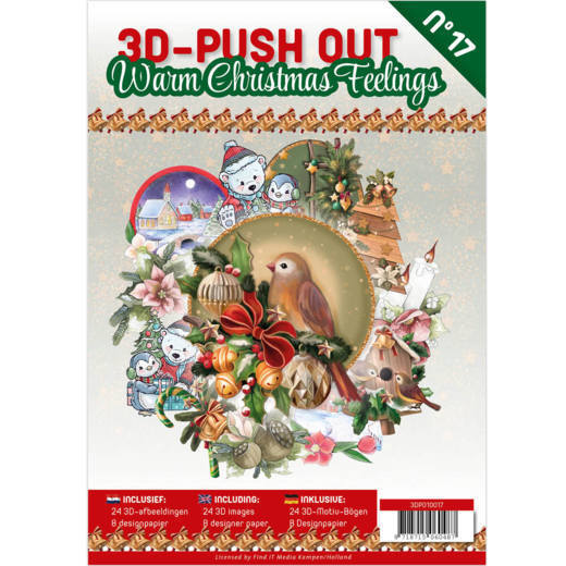 CD: 3D Push Out book 17 - Warm Christmas Feelings