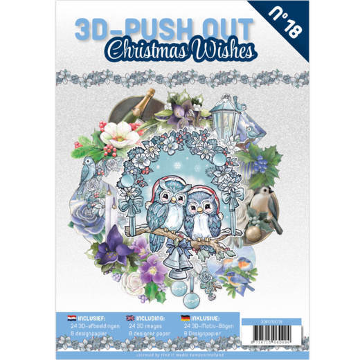 CD: 3D Push Out book 18 - Christmas Wishes