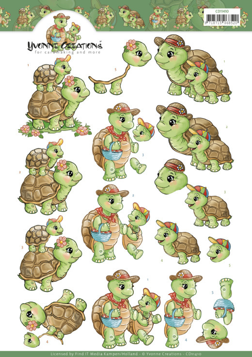 CD: Yvonne; Turtle Mommy