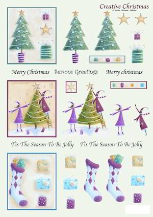 Craft UK: Push Out; Creative Christmas, Tree