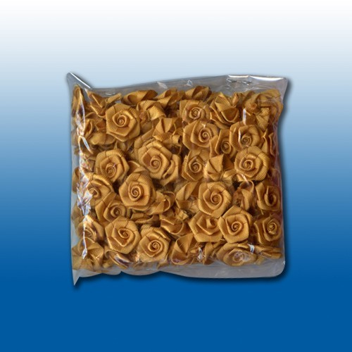Flowers: 24 pcs; oker