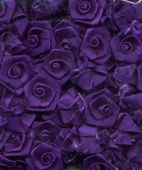 Flowers: 24 pcs; deep purple