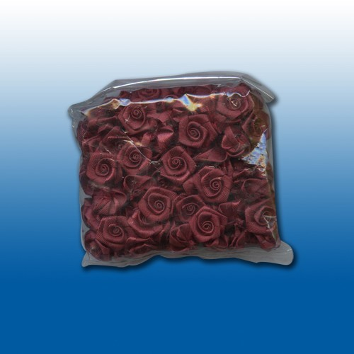Flowers: 24 pcs; bordeaux