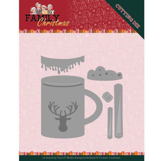 CD: Yvonne Creations; Family Christmas, Die - Hot Drink