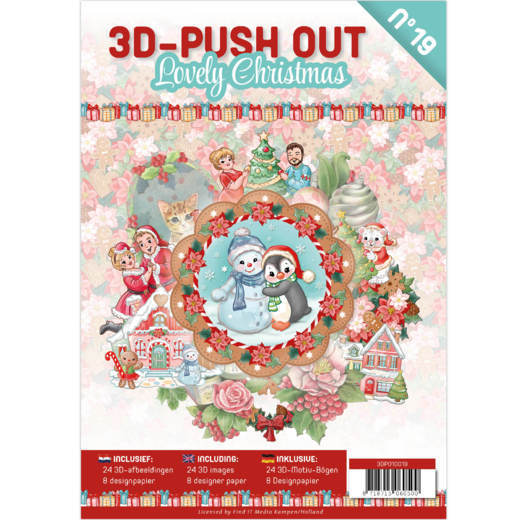 CD: Push Out book 19 - Lovely Christmas