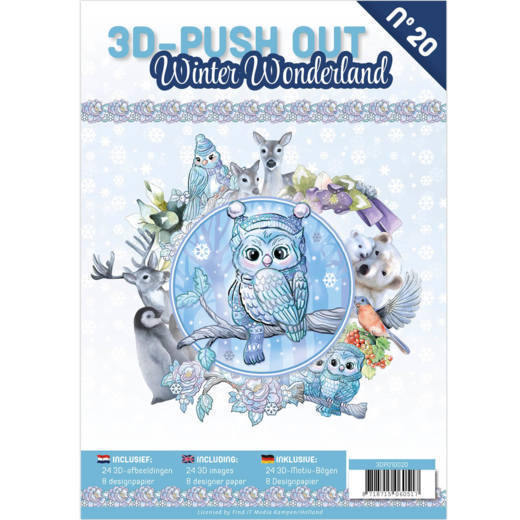 CD: Push Out book 20 - Winter Wonderland