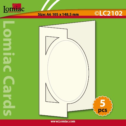 Lomiac: A6 Cards 5 pieces