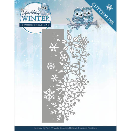 CD: Yvonne Creations; Sparkling Winter, Dies - Sparling Border