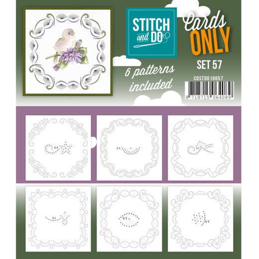 Cards Only: Stitch and Do; set 57