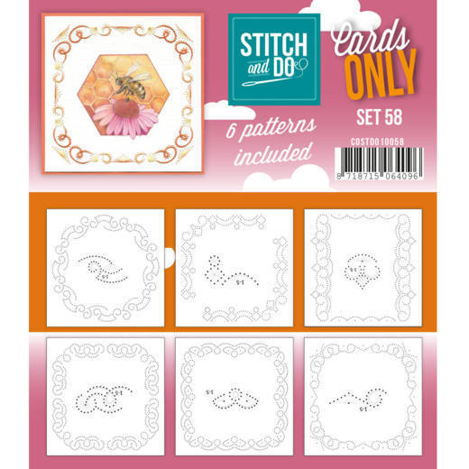 Cards Only: Stitch and Do; set 58