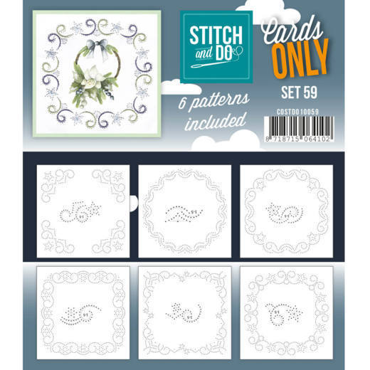 Cards Only: Stitch and Do; set 59