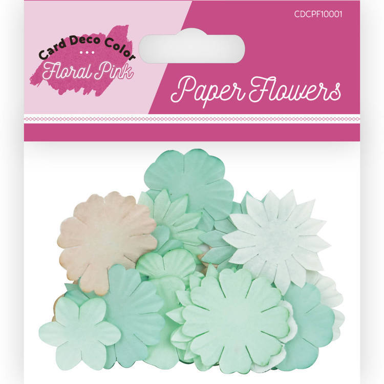 Card Deco Color: Yvonne Creations; Floral Pink, Paper Roses