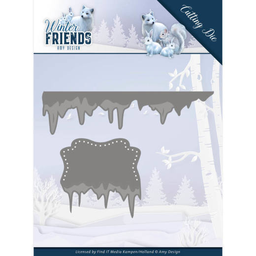CD: Amy Design; Winterfriends, Die - Ice Border