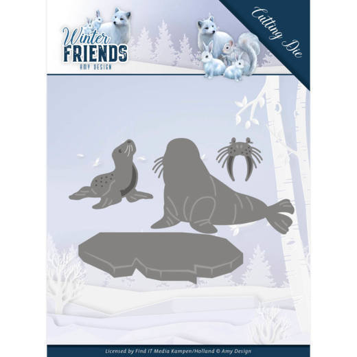 CD: Amy Design; Winterfriends, Die - Polar Friends