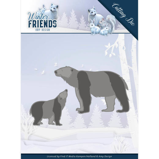 CD: Amy Design; Winterfriends, Die - Polar Bears