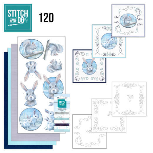 Stitch and Do 120: Arctic Friends
