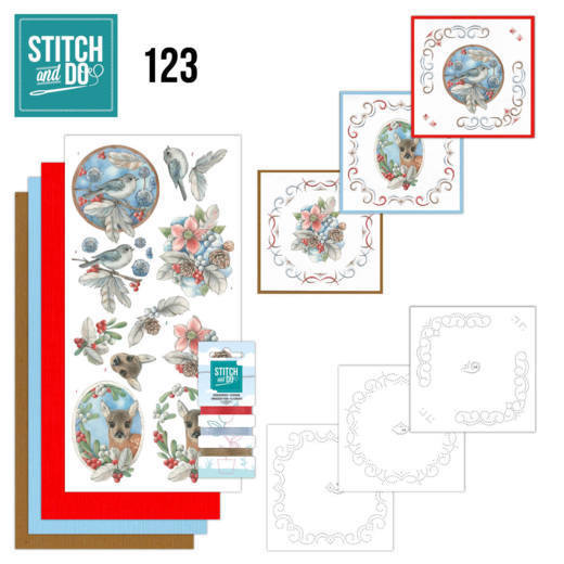 Stitch and Do 123: Berries and Feathers
