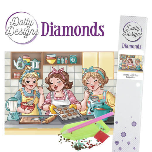 Dotty Designs Diamonds - Bubbly Girls - Kitchen
