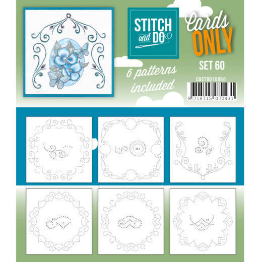 Stitch and Do; Cards Only; set 60