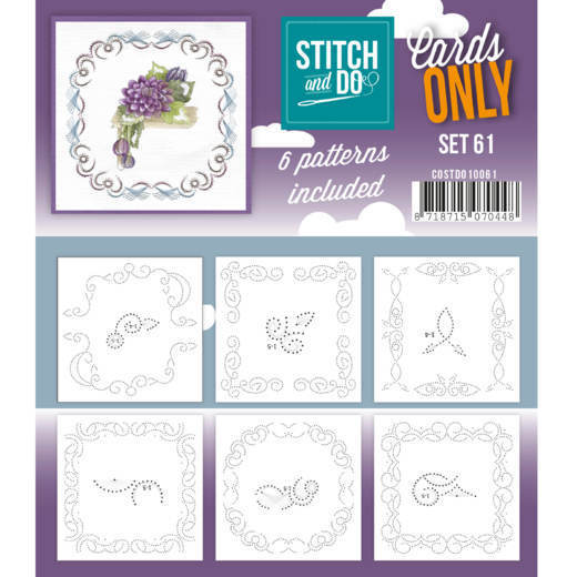 Stitch and Do; Cards Only; set 61