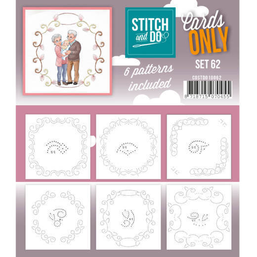 Stitch and Do; Cards Only; set 62