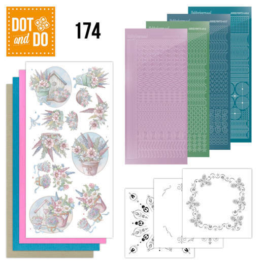 Dot and Do 174; Yvonne Creations - Flowers in pastel
