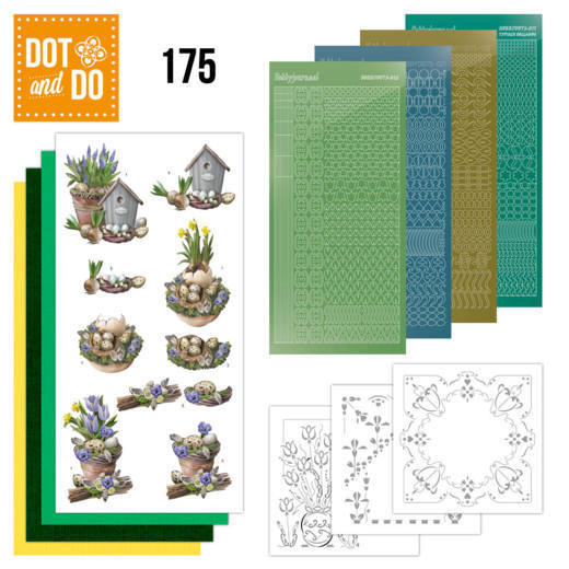 Dot and Do 175: Amy - Botanical Spring