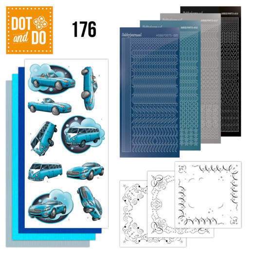 Dot and Do 176: Amy - Cars in Blue