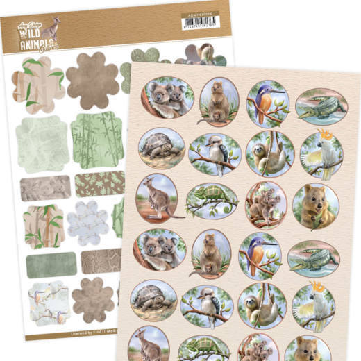 CD: Amy Design; Wild Animals Outback, Mini's