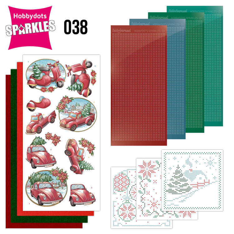 Sparkles Set 38 - Yvonne Creations -Christmas Village - Christmas Transportion