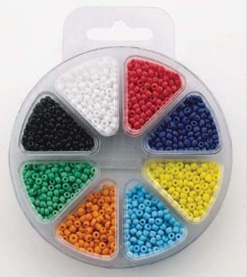 HC: Glass bead kit 8 colors - OPAQUE