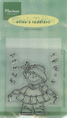 MD: Clear stamps; Eline`s Toddlers Christmas