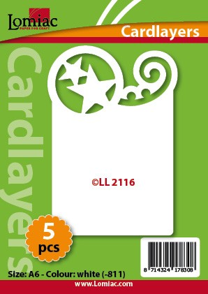 Lomiac Cardlayers 5 pcs; White