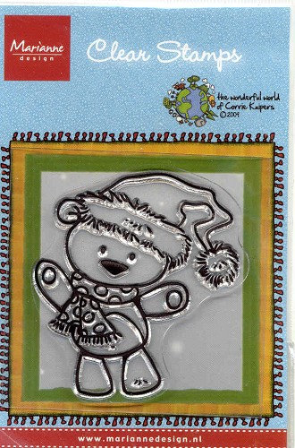 MD: Clear Stamps; Corrie Kuipers, X-mas Bear