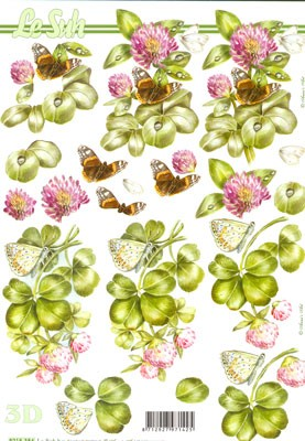 Nouvelle: Clover & Butterfly