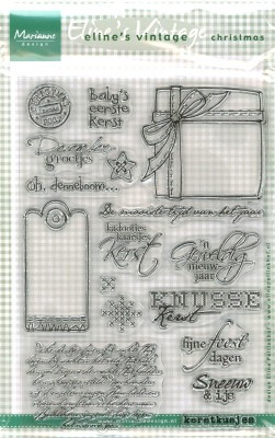 MD: Clear Stamps; Eline`s Vintage, Christmas