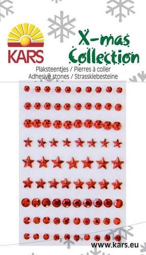 Make Me X-mas collection plakstenen; Rood