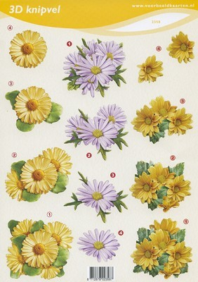 F&F: Flowers Yellow