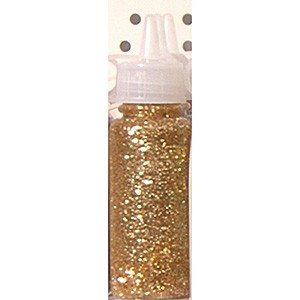 Glitter Glue 20 ml: Light Gold