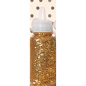 Glitter Glue 20 ml: Dark Gold