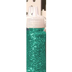 Glitter Glue 20 ml: Peacock